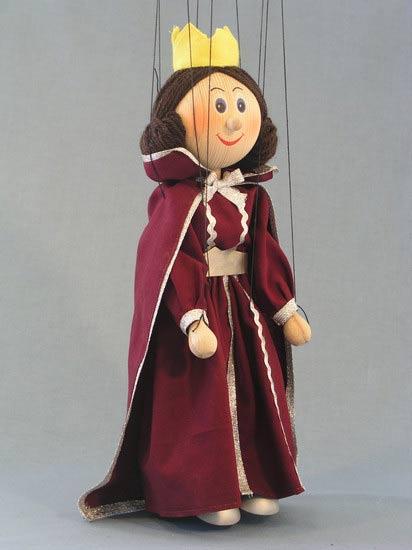 Королева Аврора деревянная марионетка