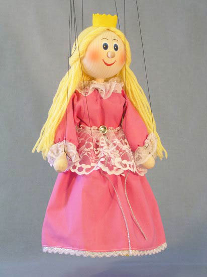 Принцесса Чилита деревянная марионетка