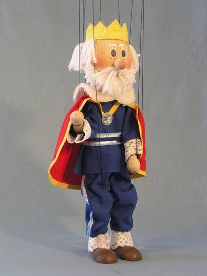 Король Лелик деревянная марионетка