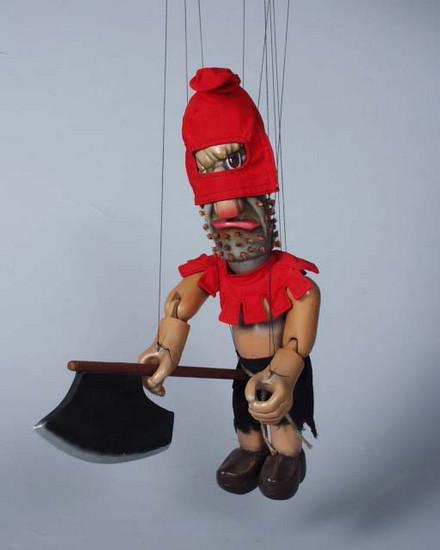 Палач Хуго деревянная марионетка