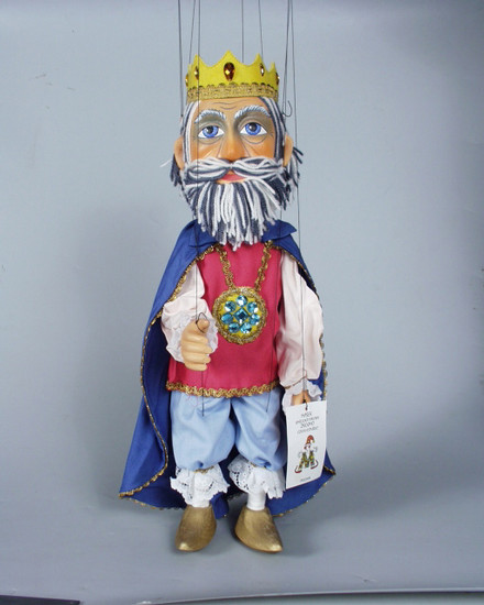Король Лукас деревянная марионетка