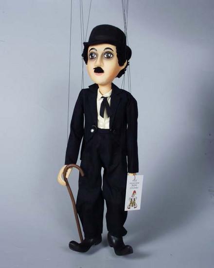 Чарльз Спенсер Чаплин деревянная марионетка