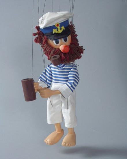 Моряк бывалый деревянная марионетка