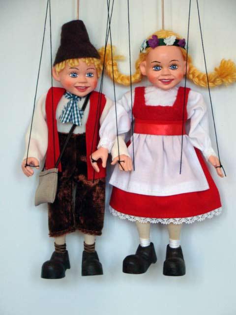 Ганс и Марушка ,  оригинальная марионетка