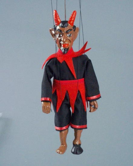 Дьявол Джамбо марионетка