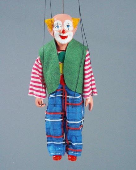 Клоун Бим марионетка