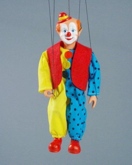 Клоун Бом марионетка