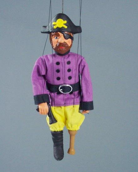 Пират Чёрная Борода марионетка