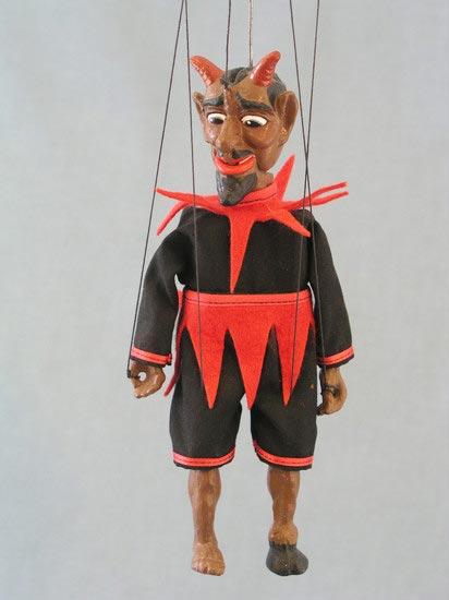Дьявол Джанго марионетка