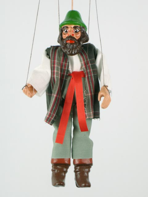 Разбойник Абаш марионетка