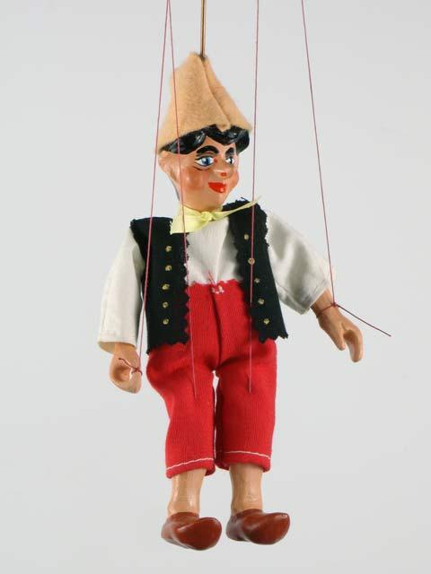 Буратино марионетка