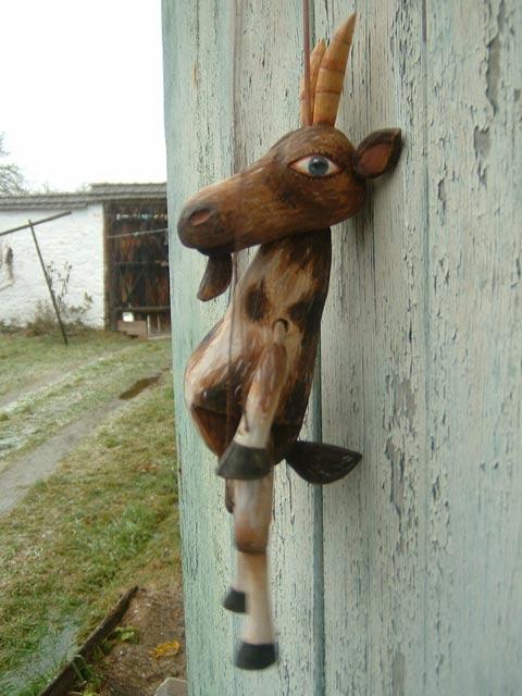 Коза , марионетка