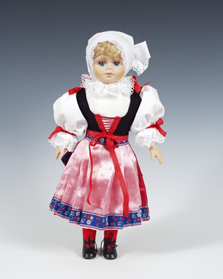 Плзен кукла