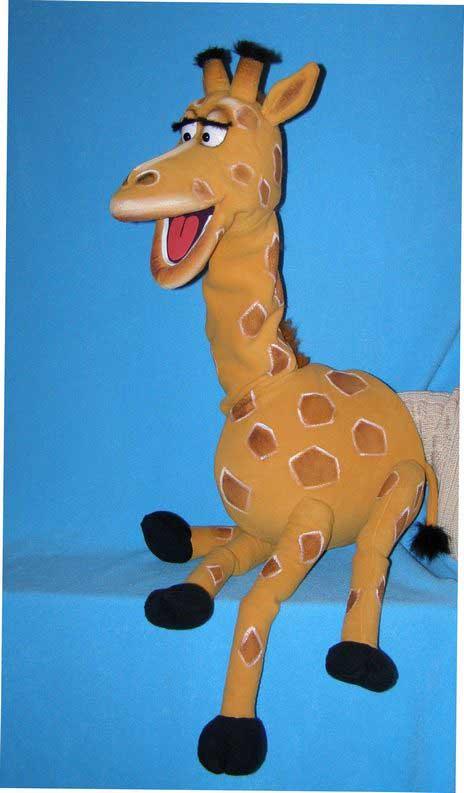 Жираф кукла чревовещателя