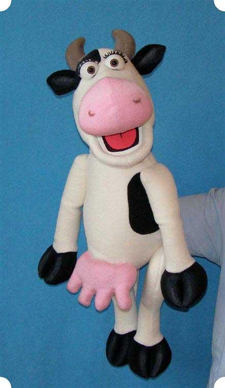 Корова Офелия кукла чревовещателя