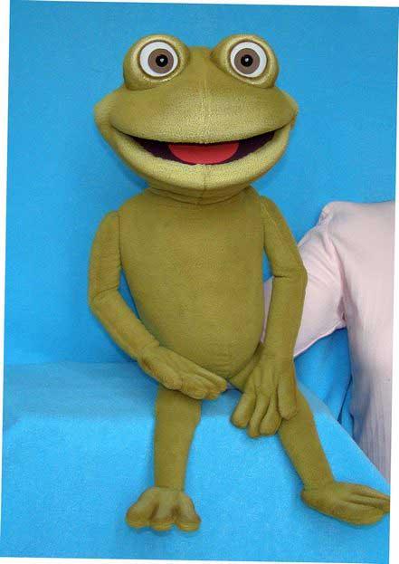 Лягушонок Фрогги кукла чревовещателя