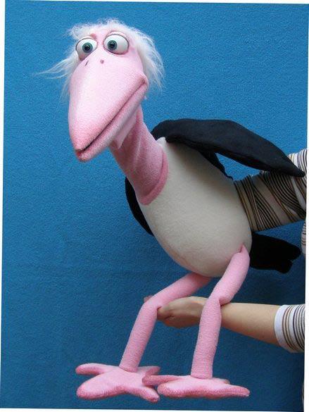 Марабу кукла чревовещателя
