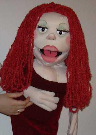 Рита кукла чревовещателя