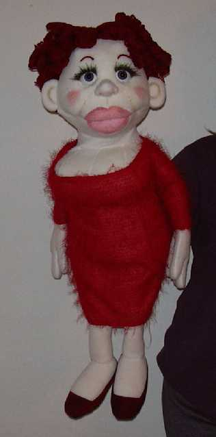 Бэтти кукла чревовещателя