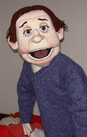 Боб кукла чревовещателя