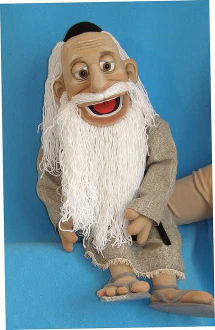 Моисей кукла чревовещателя