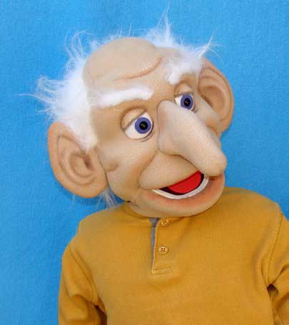 Дед Евген кукла чревовещателя