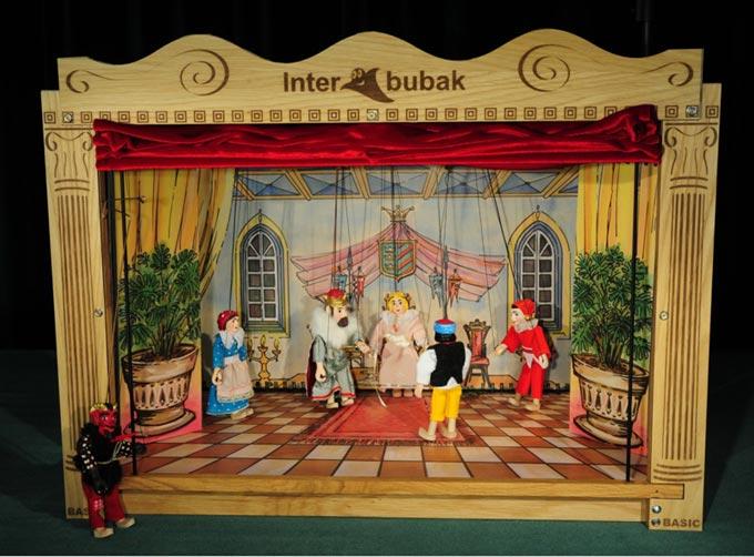 Деревянный театр кукол Домашний
