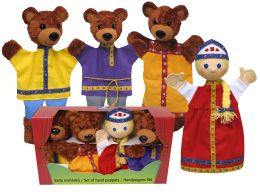Три медведя перчаточные куклы