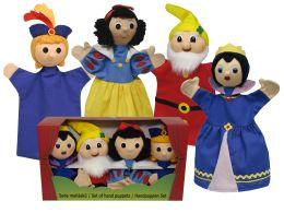 Снегурочка комплект перчаточные куклы