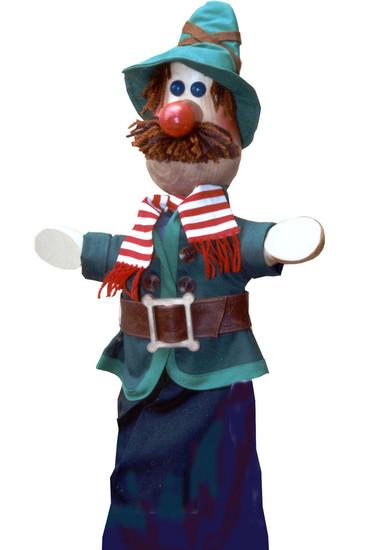 Разбойник Кудеяр перчаточная кукла