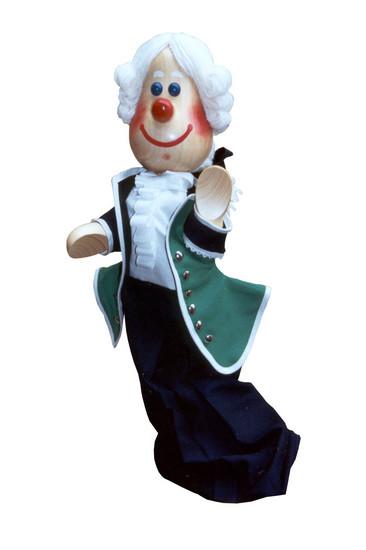 Вельможа , перчаточная кукла