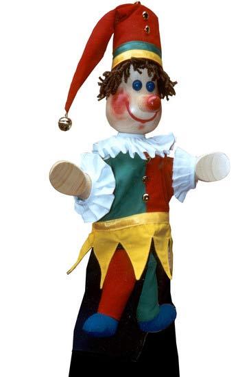 Петрушка , перчаточная кукла
