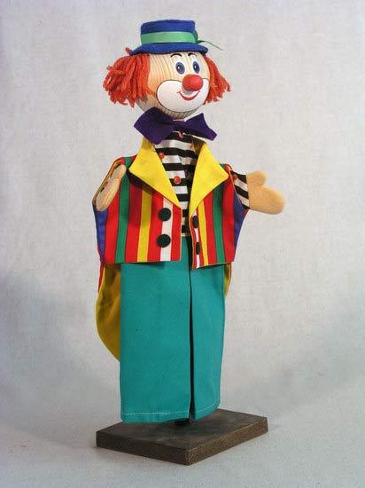 Клоун , перчаточная кукла