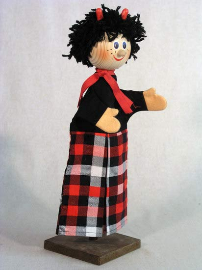 Чёрт Бертик перчаточная кукла
