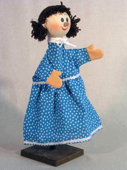 Машенька , перчаточная кукла