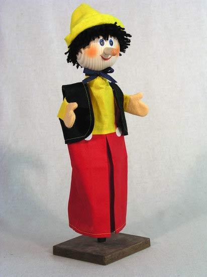 Буратино перчаточная кукла