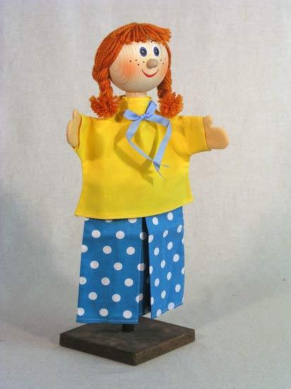 Пеппи перчаточная кукла