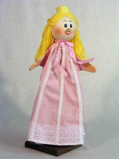 Принцесса , перчаточная кукла