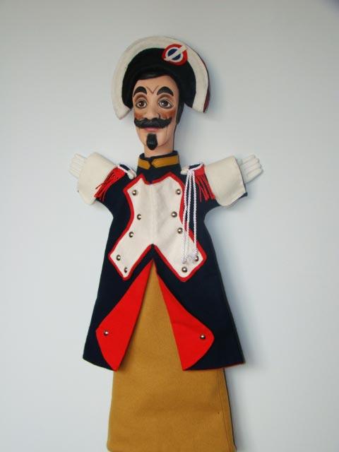 Жандарм Фердинанд перчаточная кукла