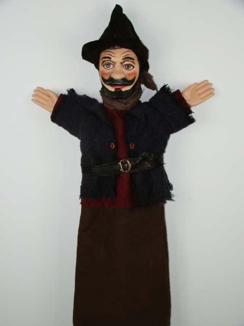 Разбойник , перчаточная кукла