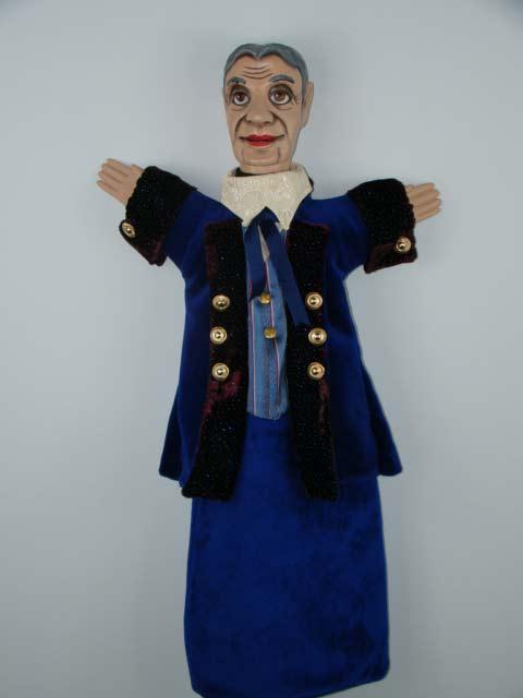 Граф , перчаточная кукла