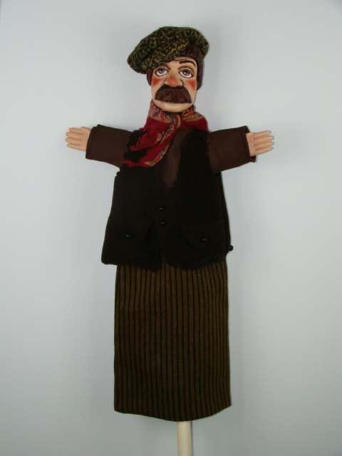 Разбойник Ляля перчаточная кукла