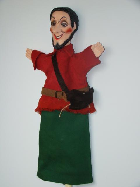 Разбойник Тришка перчаточная кукла