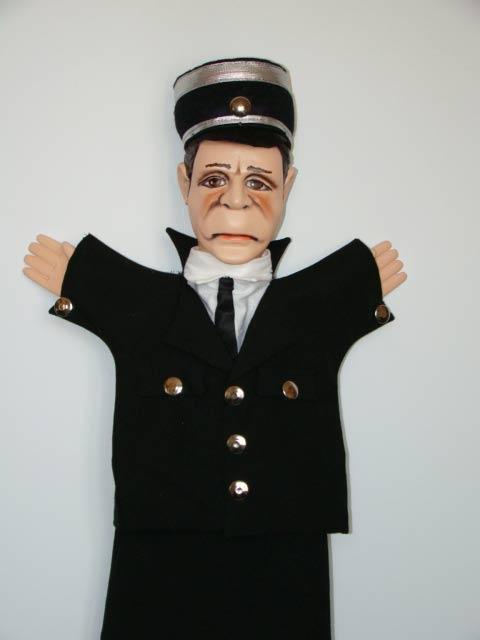 Полицейский Генри перчаточная кукла