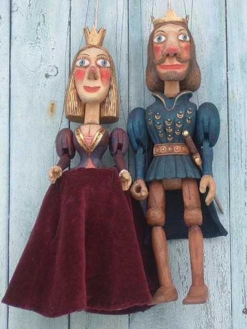 Король Петр и королева Анна марионетки