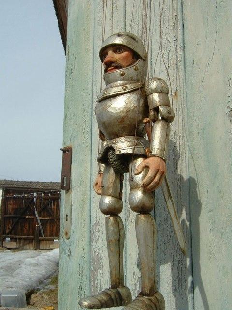Рыцарь Гавейн марионетка