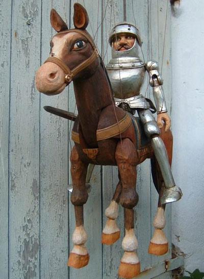 Рыцарь Ланселот марионетка