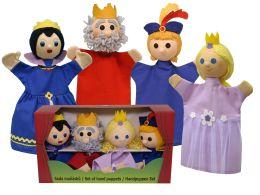 Королевская семья перчаточные куклы