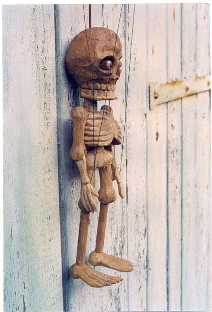 Скелет Ланни марионетка