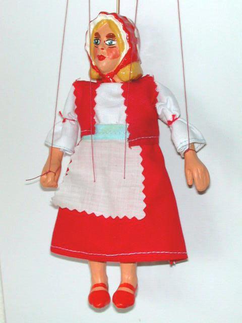 Красная шапочка марионетка